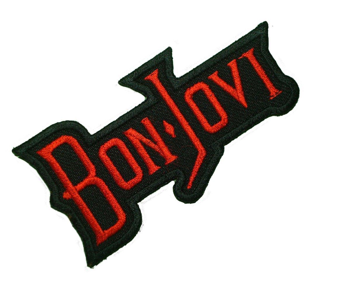 *NEW ROCK BAND BON JOVI HIGH QUALITY IRON//SEW ON PATCH*
