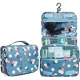 HaloVa Toiletry Bag Multifunction Cosmetic Bag Portable Makeup Pouch Waterproof Travel Hanging Organizer Bag for Women Girls