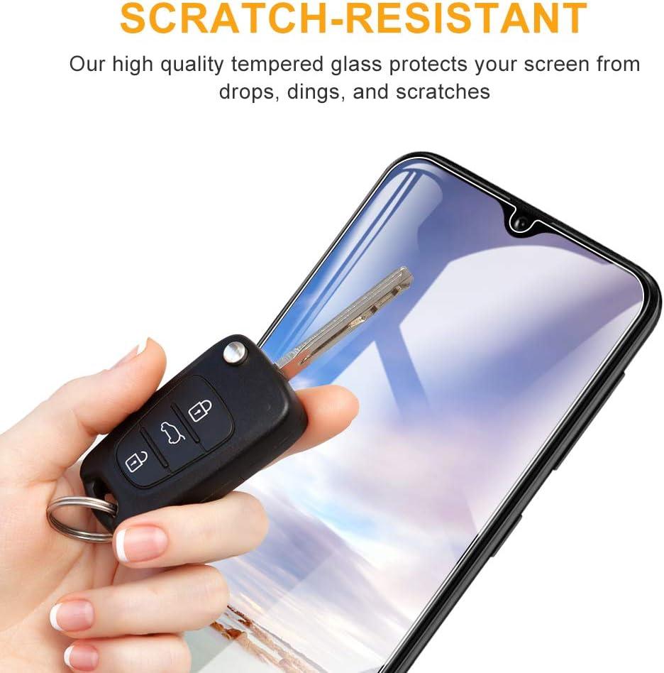 3D-Touch//9H Dureza F/ácil de Instalar DOSNTO Protector de Pantalla para Samsung Galaxy A20E, Anti-Rasgu/ños - Transparente Cristal Templado Vidrio Templado Funda Compatible Sin Burbujas 3 Pack