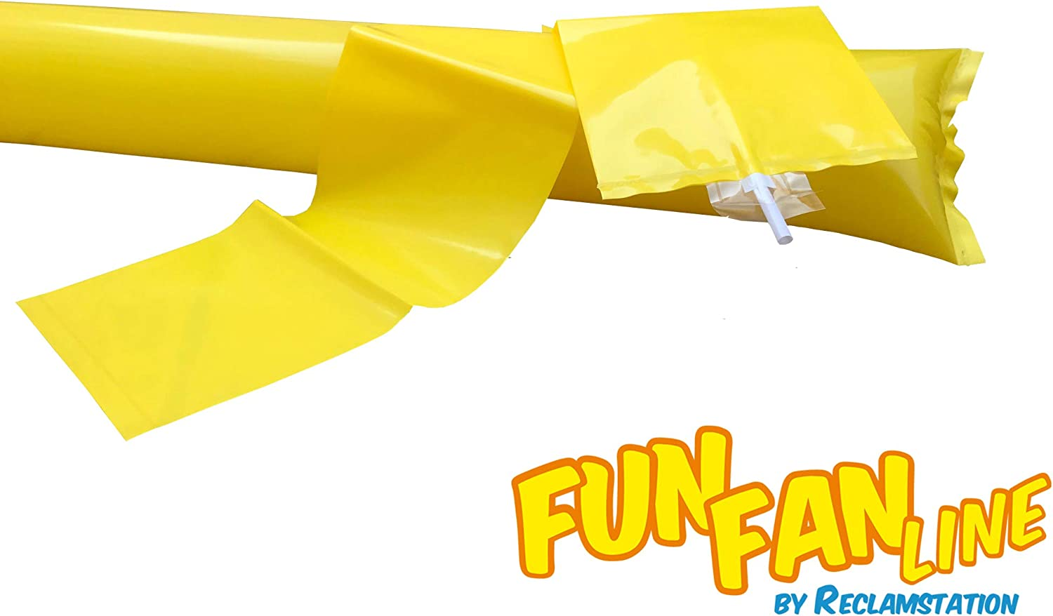 Noise Sticks for Stadium or Parties. 100 Pairs Bam Bam Thunder Sticks Boom Sticks for Cheerleading FUN FAN LINE Noise Makers for Sporting Events