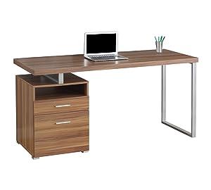 LAKDI Home Office Computer Study Desk/Table with Drawer (121534129_ExoticTeak)