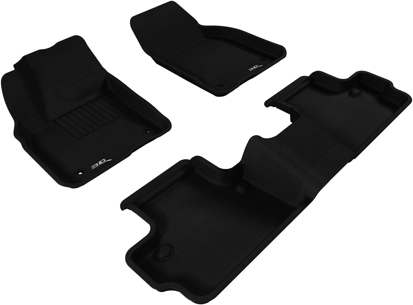 VOLVO C30 TAILORED RED CAR MATS WITH BLACK TRIM