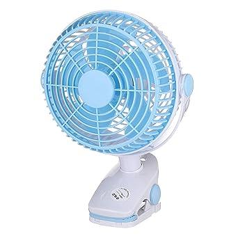 MASUNN Ventilador de refrigeración portátil Clip en el ventilador ...