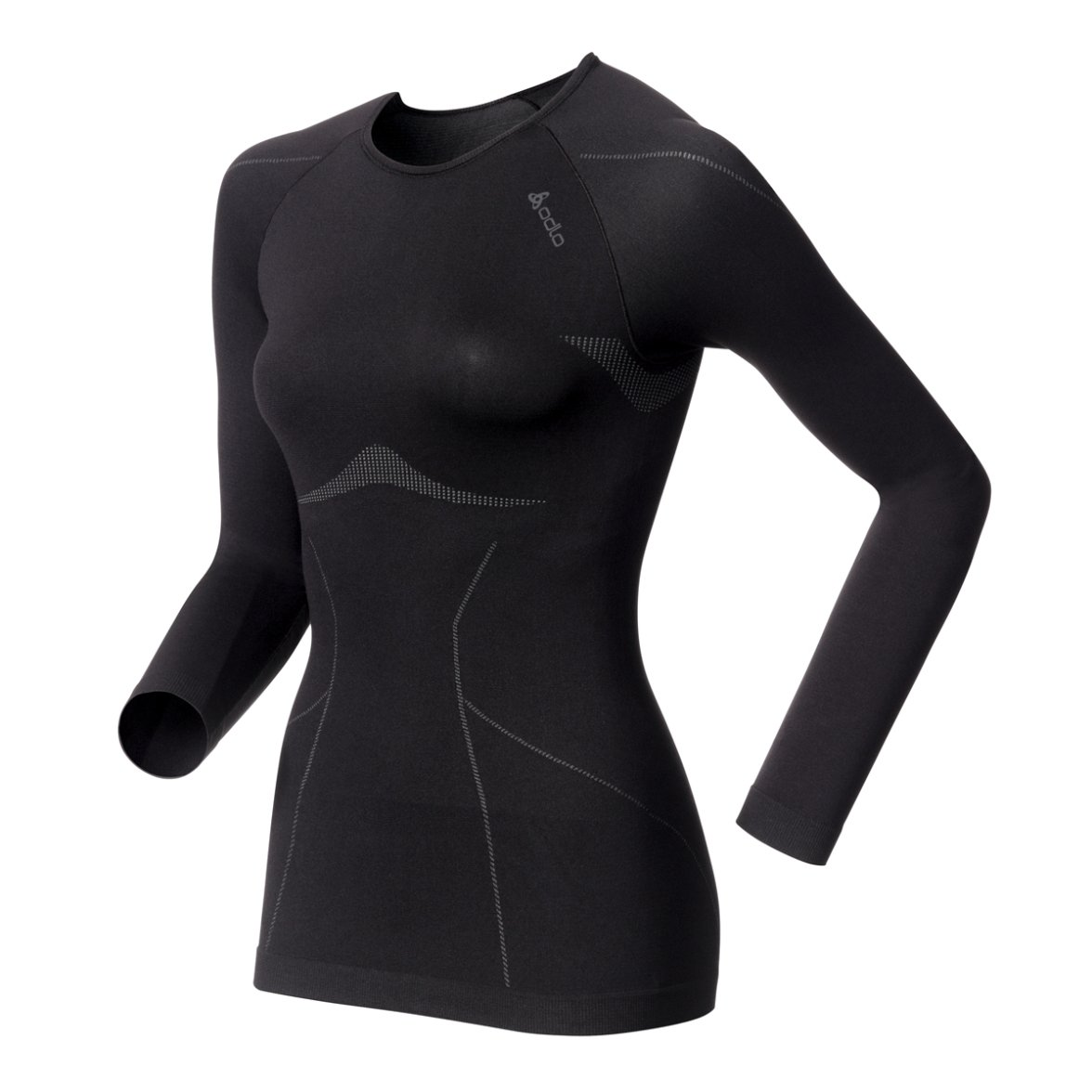 Odlo Damen Funktionsunterhemd Crew Neck Evolution Light