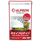 アルプロン ホエイプロテイン100 250g【約12食】ストロベリー風味(WPC ALPRON 国内生産)