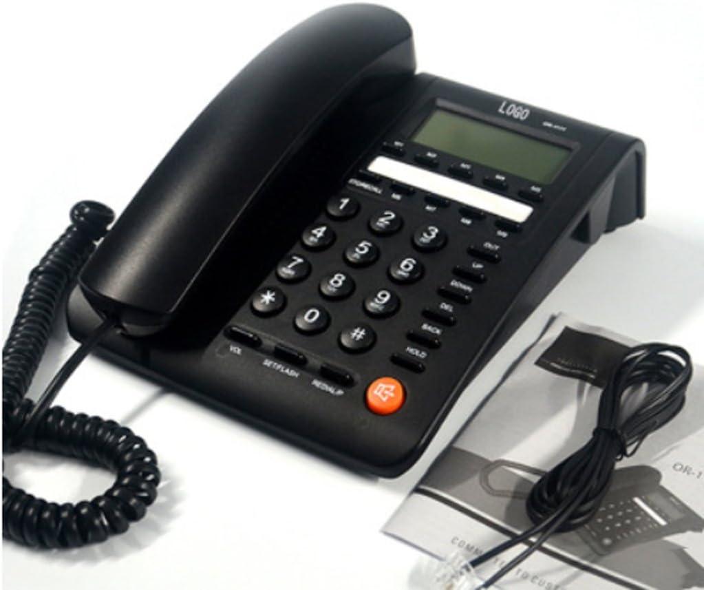 D-H Teléfonos analógicos Teléfono inglés Oficina Hotel Casa ...