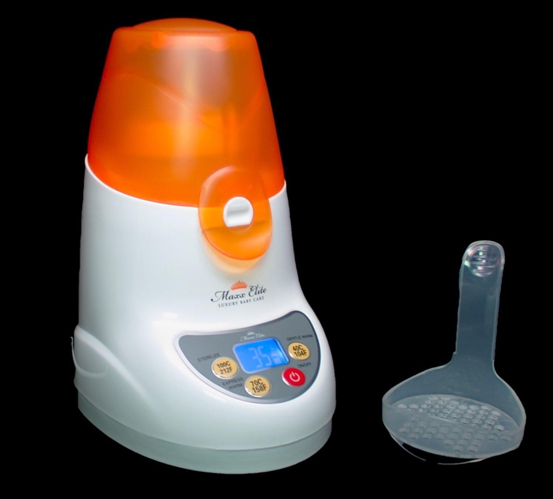 Maxx Elite ''Digital Gentle Warm'' Bottle Warmer & Sterilizer w/''Steady Warm'' and LCD Display (Orange) by Maxx Elite (Image #9)