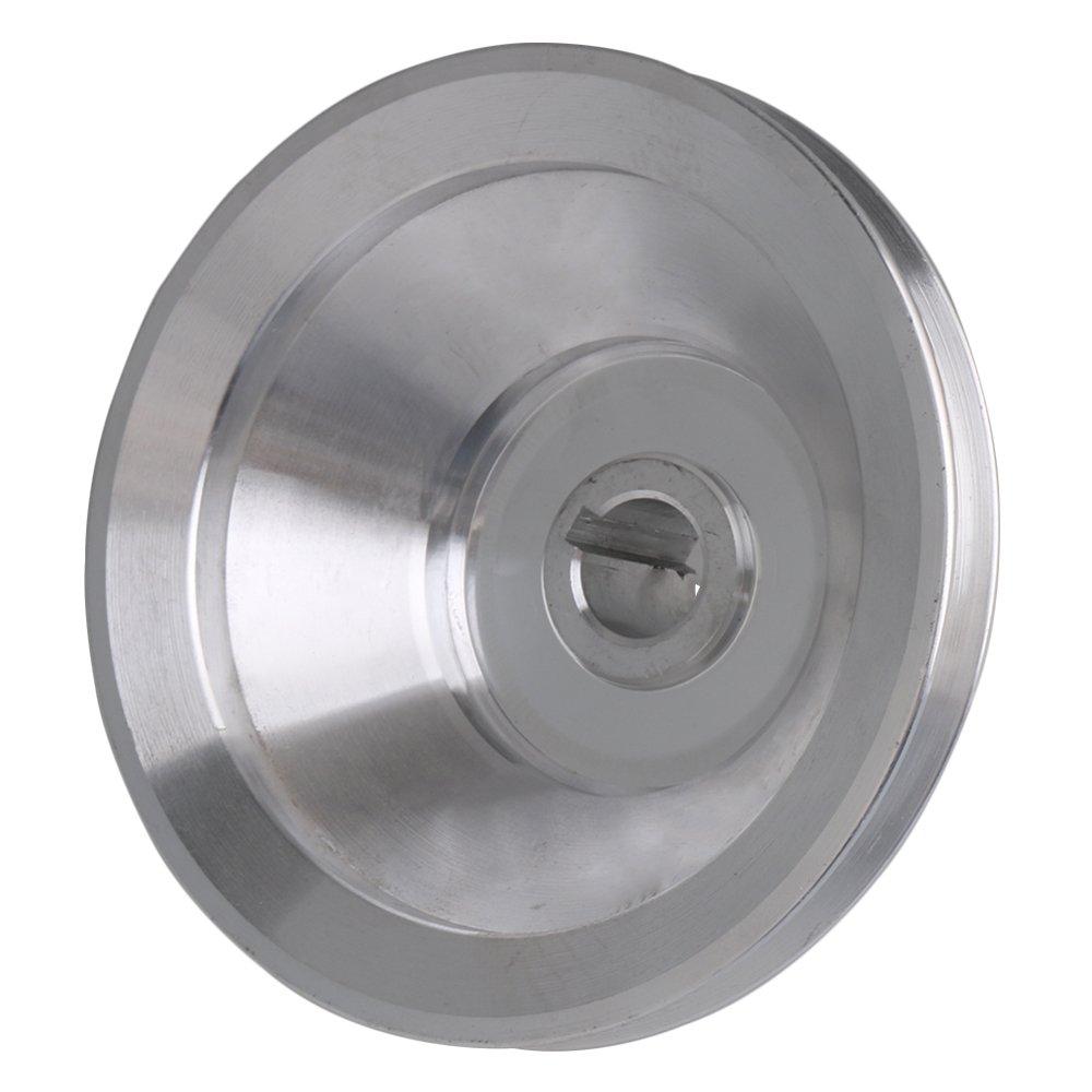 16mm Bohrung 54mm-150mm Au/ßendurchmesser Aluminium 5 Schlitz A Typ V-f/örmige Pagode Riemenscheibe 5 Schritt Riemenscheibe G/ürtel 12,7 mm Gurtbreite
