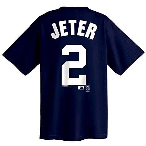 ef9079d0d9c Amazon.com : MLB New York Yankees Derek Jeter Youth Name and Number ...