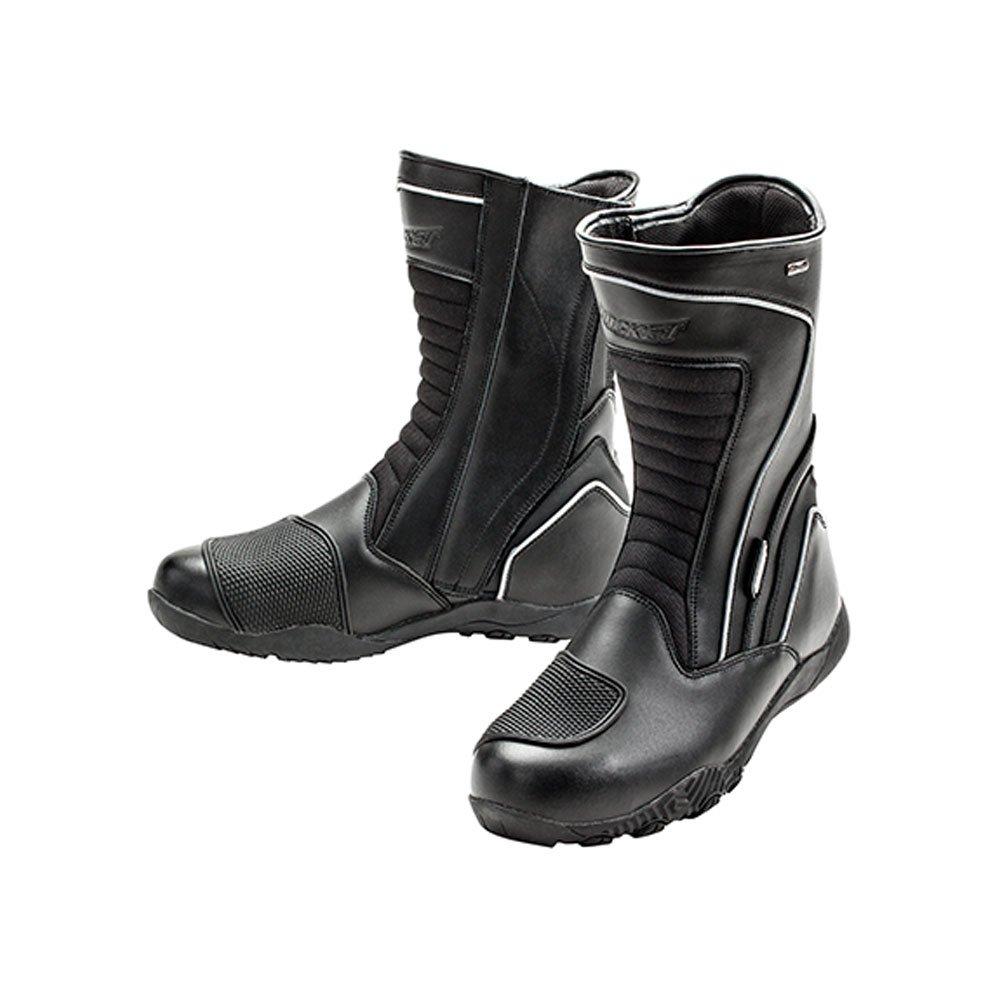 Joe Rocket Meteor FX Mens Riding Shoes Sports Bike Racing Motorcycle Boots - Black / Size 10