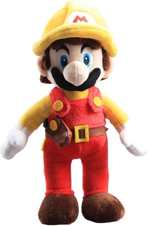 Yijinbo Builder Mario Super Mario Bros - Peluche de Animal de ...