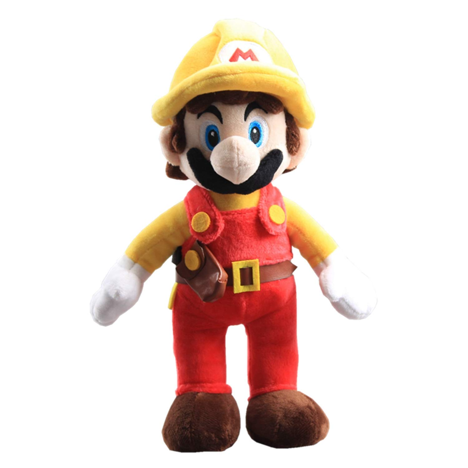 """Super Mario Maker Plush Mario Maker 11/"""" Collection Stuffed Toy Game Soft Doll"""