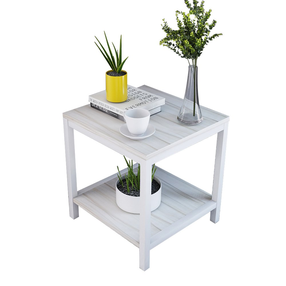 SogesFurniture End Table/Coffee Table/Sofa Table 15.7'' Mini Sized Table TVST-MP-40-S
