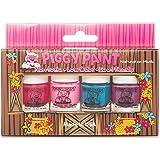 Piggy Paint Nail Polish - 4 Bottle Box - Non-toxic