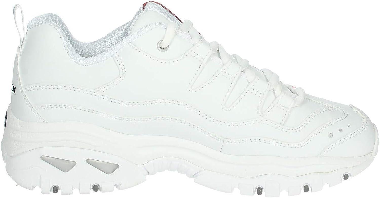 Skechers Energy Timeless Vision - Zapatillas Deportivas Sintéticas Para Bebé, Color Blanco White