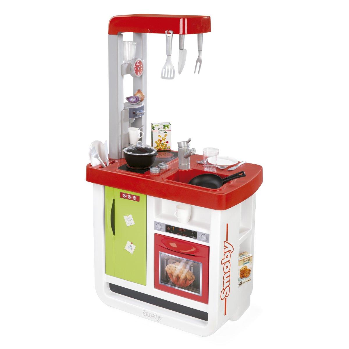 Smoby - Cocina Bon Appetit, Color Rojo (310804): Amazon.es: Juguetes y juegos