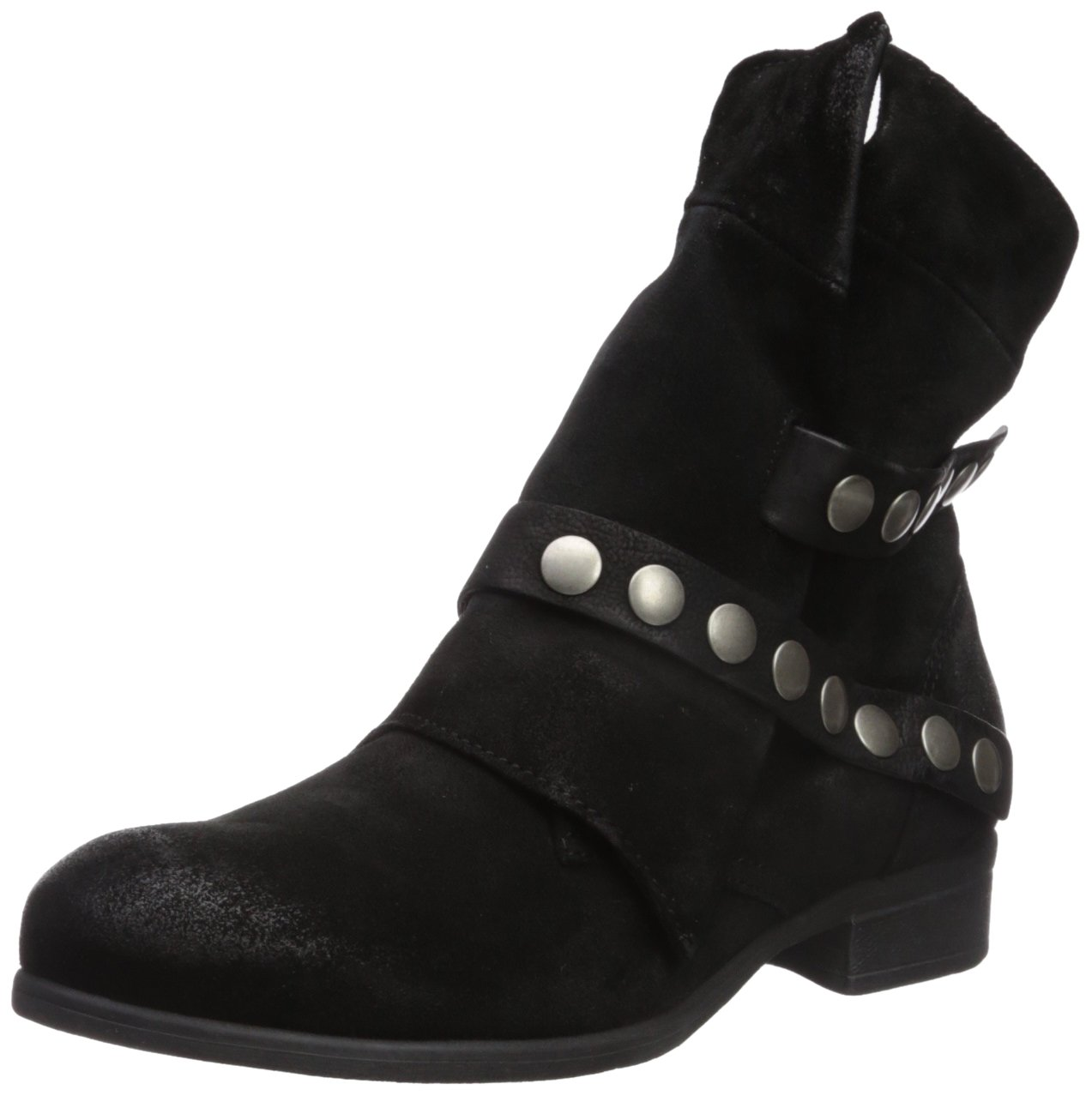 Miz Mooz Women's Silvia Fashion Boot B06XSJRF8D 39 M EU (8.5-9 US)|Black