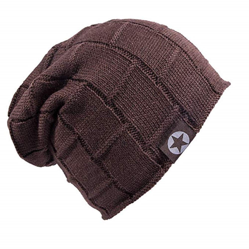 Senker Beanie Hat Winter Warm Cap Soft Thick Slouchy Knit Hats Men Women B073PY5X63