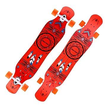 KD Tablero Largo De Cuatro Ruedas Skate Dance Board Road Transporte Cepillo Calle Scooter Profesional Hombre Y Mujer Adulto,2: Amazon.es: Deportes y aire ...