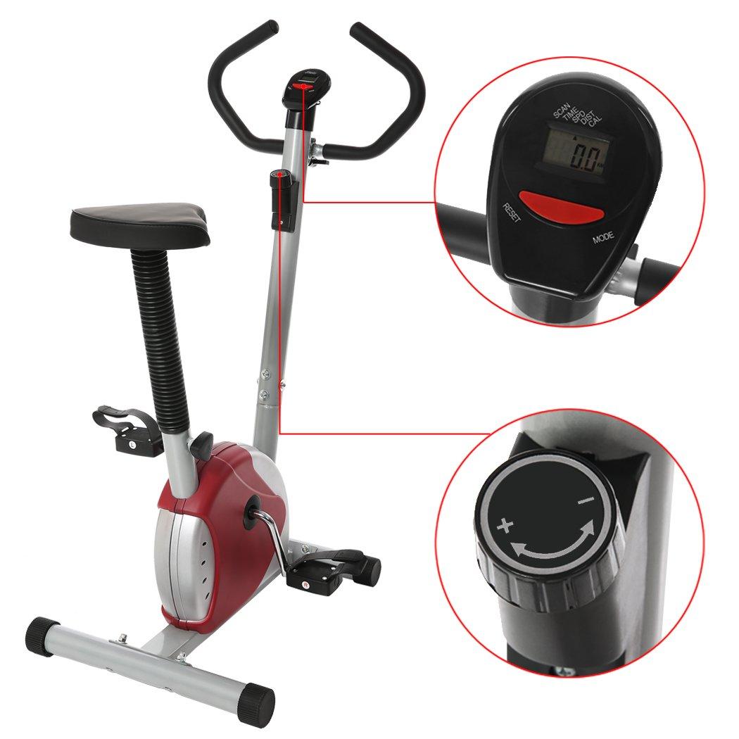 grapest Bicicleta Estatica y de Spinning Plegable Casa Bicicleta ...