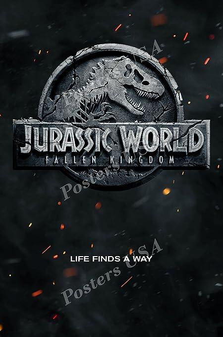 FIL524 Posters USA Jurassic World Fallen Kingdom Movie Poster Glossy Finish