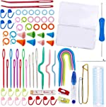 94 PCS Knitting Tool Accessory Kit Sewing Knitting Crochet Accessories Supplies