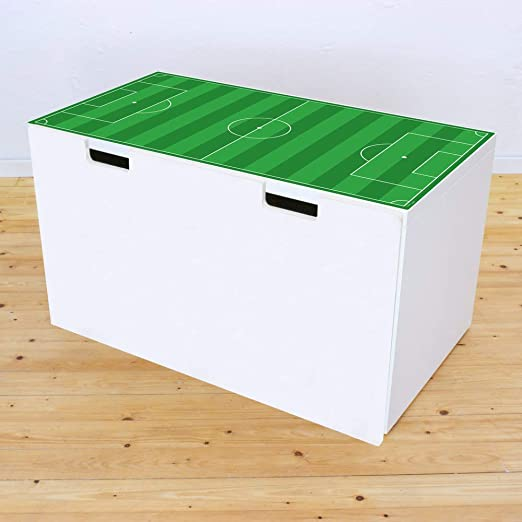 Muebles decorativo para campo de fútbol verde – Apto para Ikea stuva Banco baúl – DIY mesa de futbolín – Muebles No incluye: Amazon.es: Juguetes y juegos