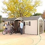 Lifetime 60127 20 x 8 Ft. Outdoor Storage