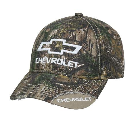 Amazon.com  Chevy Realtree Xtra Fryed Hunting Hat   Cap  Sports ... 45dcf71b9b6b