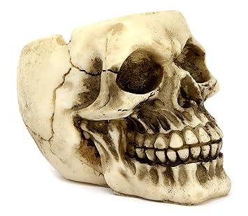 Reclamevoorwerpen Gothic Skull Ashtray 12 cm Asbakken