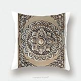 Custom Satin Pillowcase Protector Decorative Art Of Lanna Thai Engraving Of The Silver Value 98181977 Pillow Case Covers Decorative
