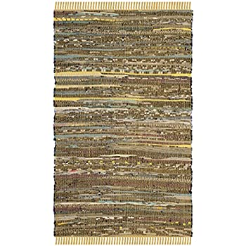 Amazon Com Safavieh Rag Rug Collection Rar127h Hand Woven