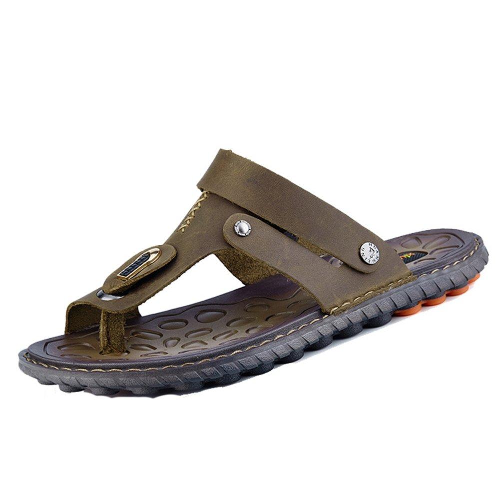 Insun Zapatillas Sandalias Temporada De Verano Hombre Antideslizante Zapatos De Playa 41 EU|Marrón 1