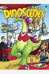 Dinoscenes (Dover Coloring Books) Paperback