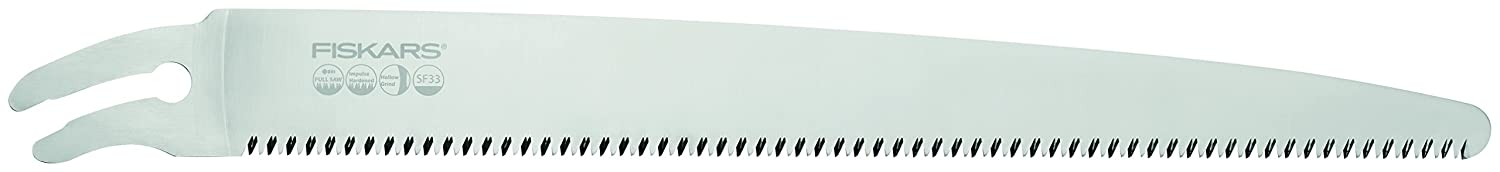 Fiskars Professional Pruning Saw, SW-240, Pulling Cut, Curved Blade Steel, Storage and Transport Case Included, Black/Orange, 1020200 SW240