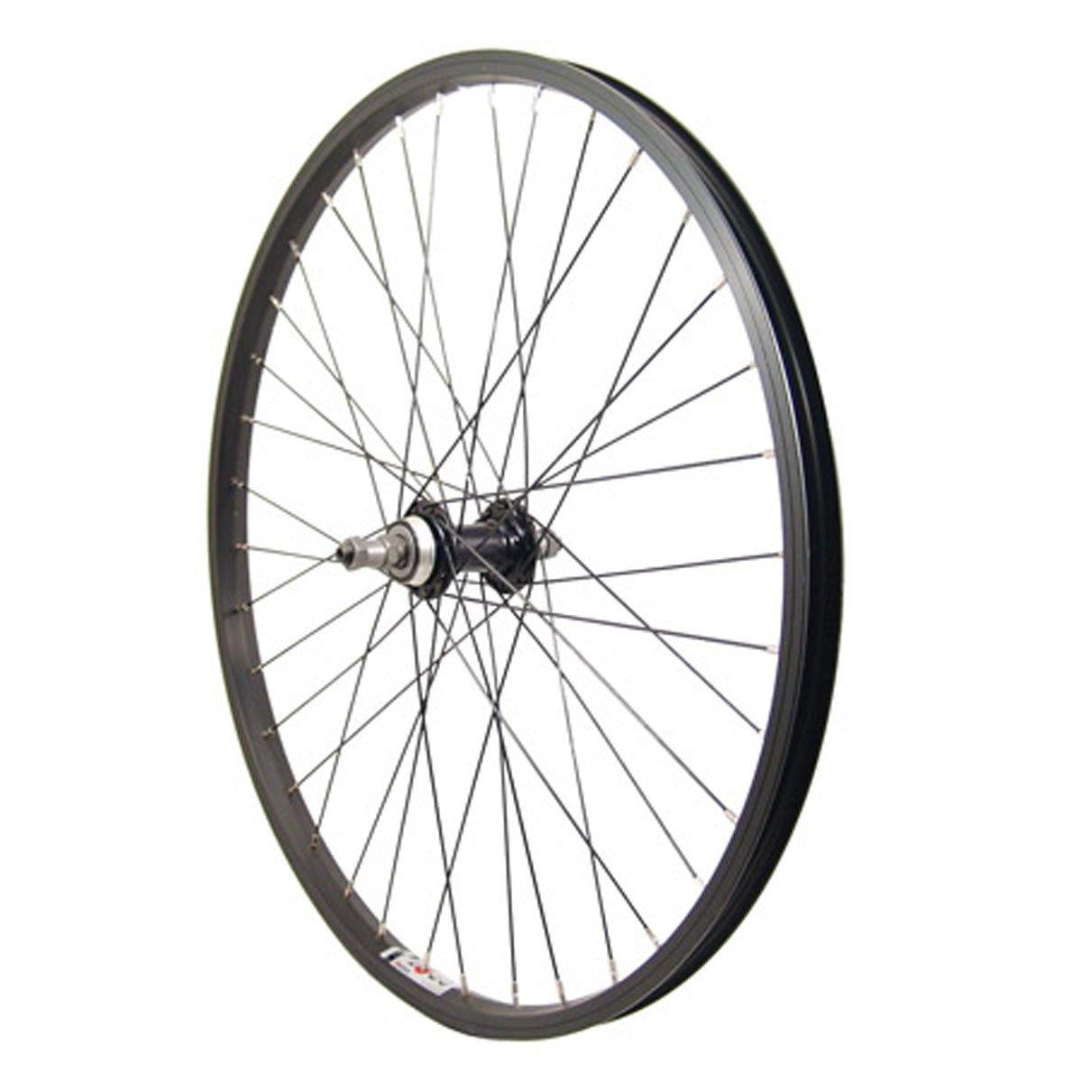 Sta Tru Rear QR 36H Wheel, Black, 24 x 1.5/1.75''