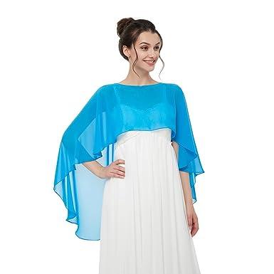b77d9ff5e05f CoCogirls Étole, châle en mousseline, accessoire d habillement, différentes  couleurs, s