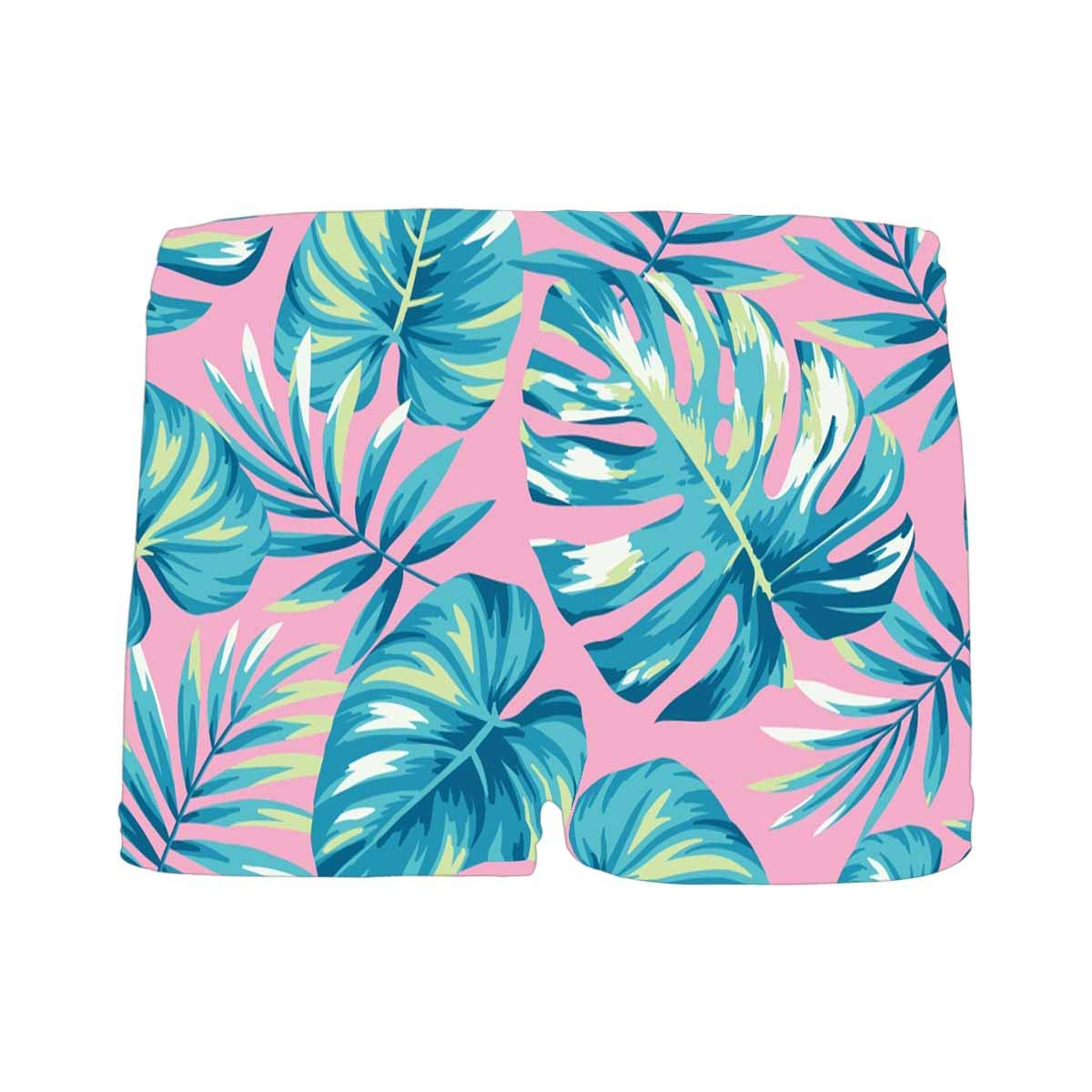 5T-2XL INTERESTPRINT Boys Tropical with Exotic Palm Leaves All Over Print Boxer Briefs