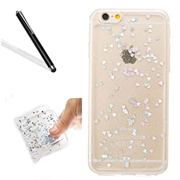 coque pailette iphone 8