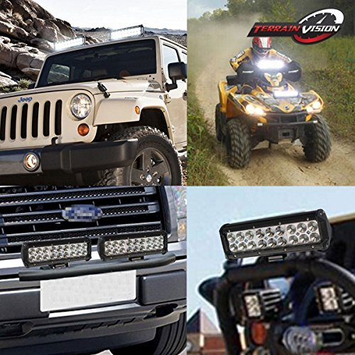 LED-light-barPair-4-inch-Tri-Row-LED-Pods-Driving-Fog-Lights-DOT-36-inch-Light-Bar-with-Bull-Bar-Tube-Clamp-Roof-Roll-Cage-Holder-1151752-Rocker-Switch-Wiring-Harness-Kit