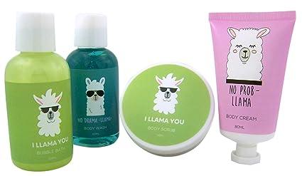 Myxx Llama Bath and Body Gift Set