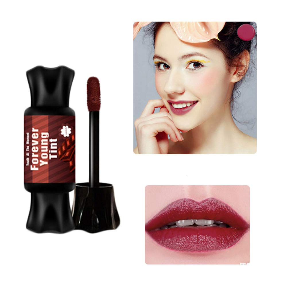 FORUU Women's Lipstick, 2020 Valentine's Day Surprise Best Gift For Girlfriend Lover Wife Party Under 5 Free delivery Matte Waterproof Candy Decorative Long Lasting Matte Makeup