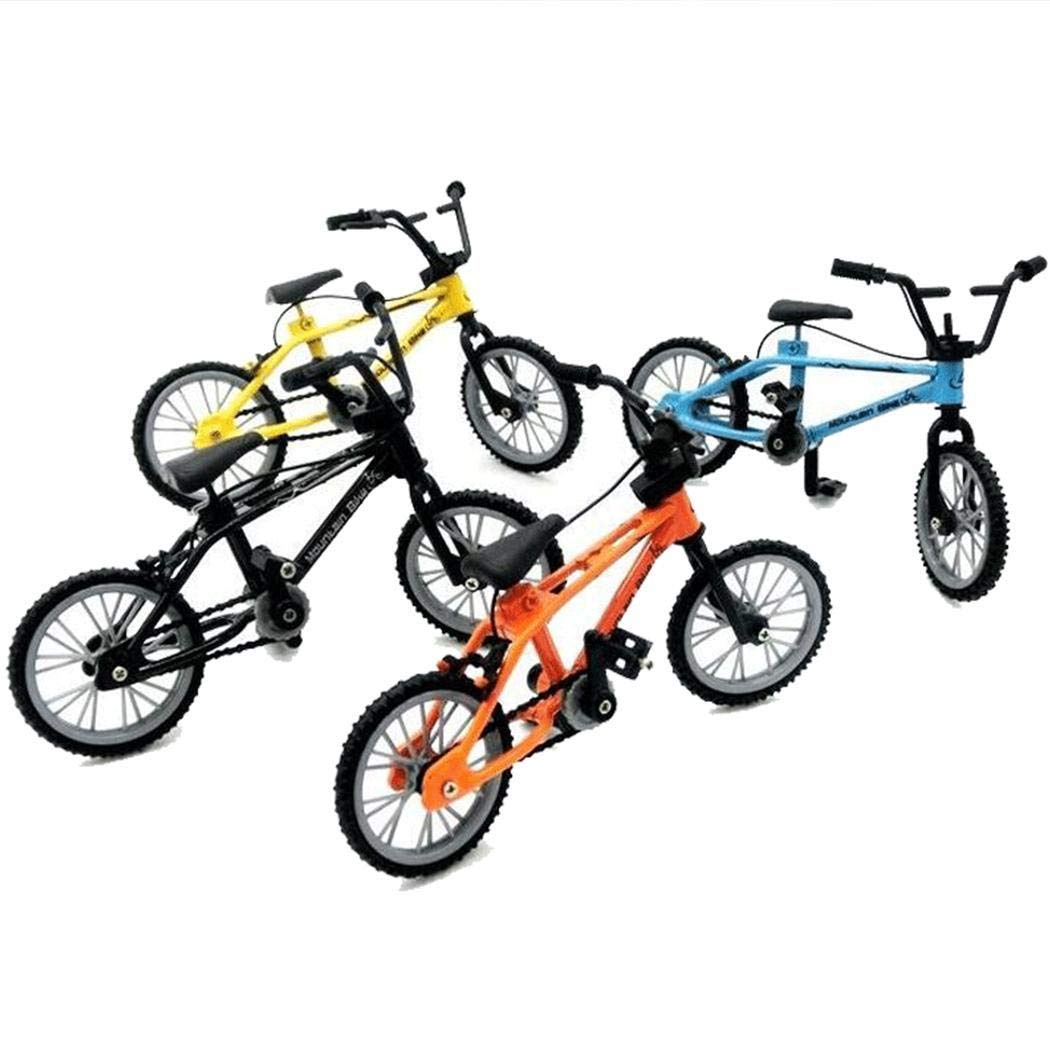 Foshin Children Alloy Bicycle Toy Mini Simulation Bicycle Model Educational Toys Bikes by Foshin (Image #3)