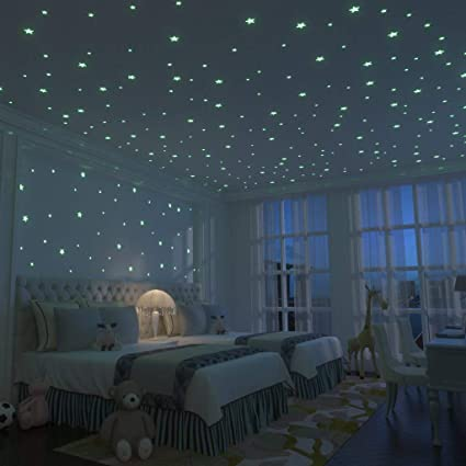 Amazoncom Glow Stars Supernova 200 Of The Brightest Glow In The - How-to-make-a-starry-night-ceiling-in-the-bedroom