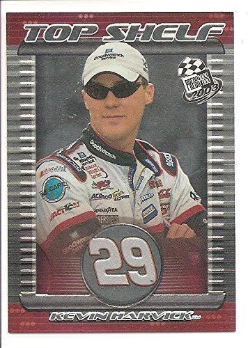 Kevin Harvick 2003 Press Pass Top Shelf NASCAR Racing Card #TS 10/10