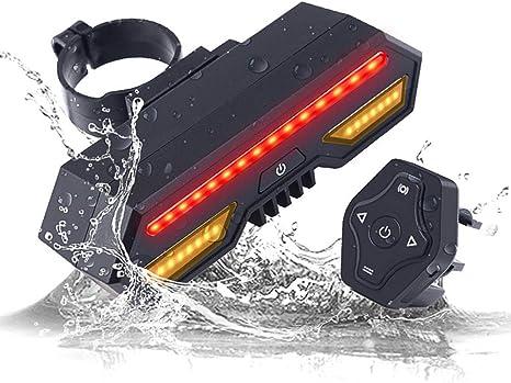 Bike-umdrehungs-licht Mit Drahtloser Fernbedienung Led-Fahrrad-r/ücklicht R/ücklicht Mit Blinkern F/ür Radfahren