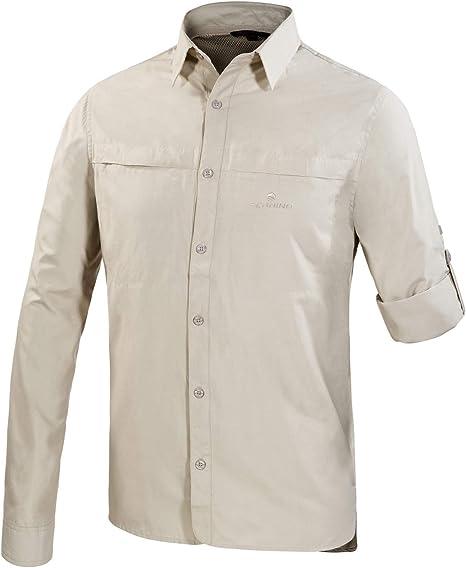 Perinet L/S - Camiseta de Manga Corta para Hombre (Talla XL ...