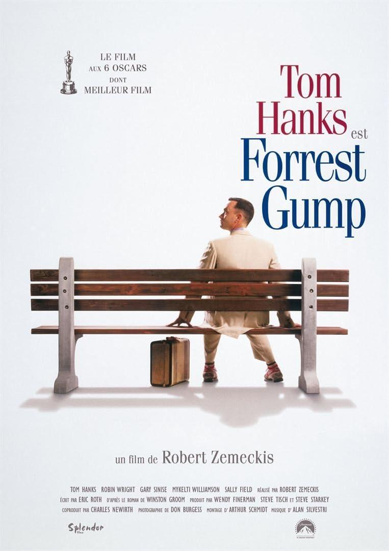 Forrest Gump - Affiche de Film Originale - 40x53 cm - Roulée: Amazon.fr: Cuisine & Maison