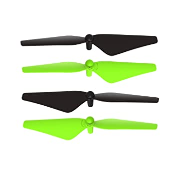 Potensic Propellers, 4 Blades Helices para U42 U48 Drone: Amazon ...