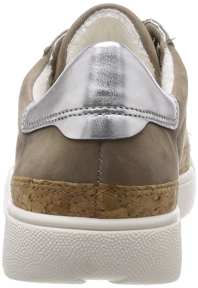 8.5 UK Brown ara Womens ROM 1214404 Low-Top Sneakers Taupe, Natur//Silber 05